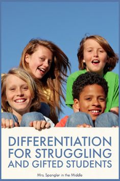 Need Some Ideas For Differentiation In Your Middle Or High School Language Arts Class? At that point You'll Love The Ideas Shared By The Community Here Middle School Ela, Middle School English, Differentiation In The Classroom, Differentiation Strategies, Flipped Classroom, English Classroom, English Teachers, Teaching Strategies, Teaching Ideas
