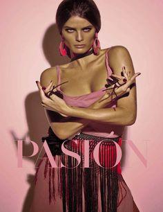 Isabeli Fontana & Timo Nunez for Vogue Italia by Steven Meisel