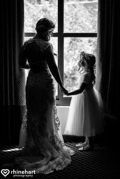 Flower girl and bride, simple must have photos, best-lehigh-valley-wedding-photographers-bear-creek-lockridge-creative-4