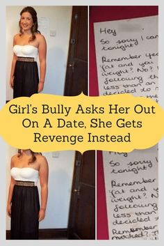 Girl's Bully Asks Her Out On A Date, She Gets Revenge Instead