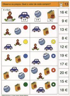 Eurorekenen: Optellen Euro, School Closures, Home Schooling, Special Needs, Playroom, Homeschool, Teaching, Special Education, School