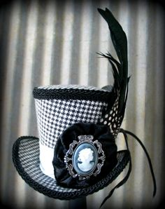 Mad+Hatter+Tea+Party+Hats   ... Party Hat, Mini Top Hat, Tiny Top Hat, Tea Party Hat, Mad Hatter Hat