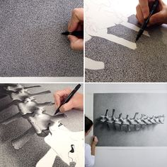 Unreal work by Featured Artist: Photorealistic Pen Drawings by CJ Hendry. Done by pen
