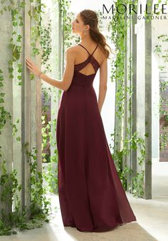 9c1d2b0d4815 Morilee | Madeline Gardner, Sexy Bridesmaid Dress with V-Neck, Lace Bodice  Style