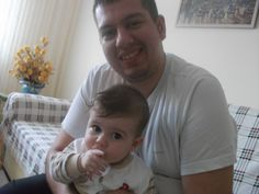Little Kerem and uncle:)