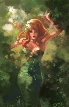 Poison Ivy by ~agathexu
