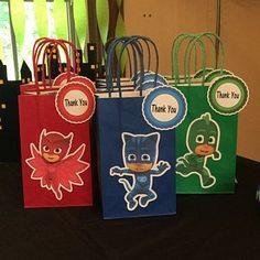 Super Ideas Gifts Ideas For Boys Brother Pj Masks Birthday Cake, Birthday Party Snacks, Superhero Birthday Party, 4th Birthday Parties, 3rd Birthday, Birthday Ideas, Pj Masks Party Favors, Pj Mask Party Decorations, Festa Pj Masks