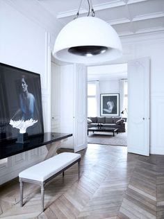 Paris Home of Patrick Gilles & Dorothee Boissier