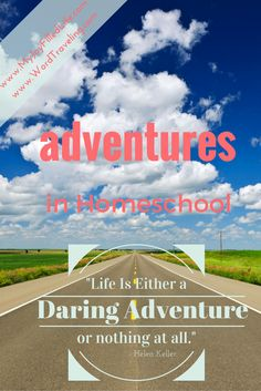 Adventures in Homeschooling - Inspiration, encouragement, and tips on taking your homeschool outside your four walls and into the world.
