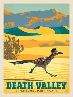 Anderson Design Group – American National Parks – Death Valley National Park: Roadrunner