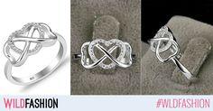 Surprinde-o cu o declaratie de iubire infinita. Iata inelul perfect pentru aceasta ocazie:
