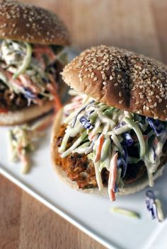 The turkey burger is a wondrous thing to behold, especially when it's dressed up with Thai spices and creamy broccoli slaw.