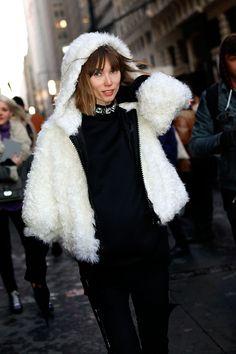 Street style moda en la calle looks para el invierno Nueva York