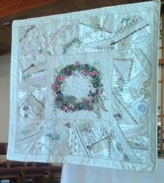 My garden quilt at quilt show