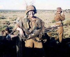 Ready for action. Military Archives, Defence Force, Military History, South Africa, Southern, Army, African, Action, Memories