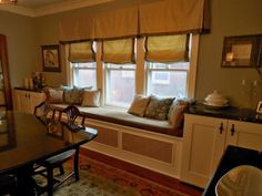 dining room - love that window seat!
