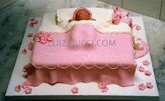 Resultado de imagem para bolos cha bebe menina