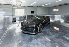 Garage Floor Options Ideas Costs And Installation