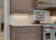 Sophisticated Two-Tone Kitchen in Scituate - Norfolk Kitchen & Bath