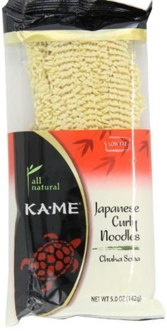 Ka-Me Curly (Chuka Soba) Noodles, 5-Ounce Packages (Pack of 12) by Ka-Me, http://www.amazon.com/dp/B000ET8XAQ/ref=cm_sw_r_pi_dp_h12Rrb15QC7Y2