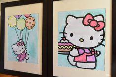Hello Kitty Artwork