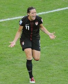 Ali Krieger, my role model! Went through the same thing I did!