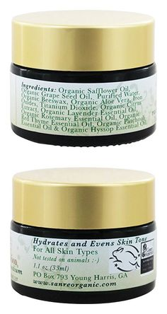 SanRe Organic Skinfood - Radiant Glow Medium - Organic Tinted Facial Moisturizer For All Skin Types Safflower Oil, Organic Seeds, Organic Essential Oils, Even Skin Tone, Skin Food, Tinted Moisturizer, Seed Oil, Aloe Vera, Facial