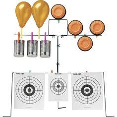 Targetman Air Rifle Target Stand, bb and airsoft range
