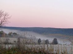"""geopsych: """" Another misty October landscape. """""""