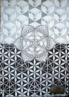sacredgeometry-art:  Art by Splund- Facebook