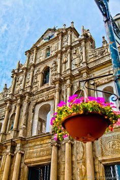 No trip to Macau is complete without visiting Macau's most famous landmark, the Ruins of St. Paul. I will see this on the first day I arrive in Macau.