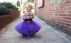 Plum Tutu  Baby Plum Tutu  Toddler Plum Tutu  by JazzyGDesigns  USE code HOCUSPOCUS20 for 20% off all Halloween orders!