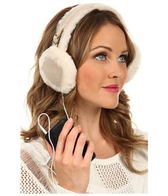 "UGG Classic ""U"" Logo Earmuff With Speaker Technology Sand - Zappos.com Free Shipping BOTH Ways"