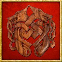 Eine grosse Auswahl an Schnitzwerk aus Holz verschiedener Kulturen wie Nordischen Völkern, Kelten und vielen mehr. Google, Wood Carvings, Dragons, Random Stuff, Figurine, Timber Wood, Deco, Projects