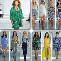 Esta es la nueva colección de @dvf #ss15 #DVFSS15 #dianevonfurstenberg #nyfw #MBFW #newyork #runway #moda #fashion #fashiondiaries #asilovecamilamoda #asilovecamilafashion #Padgram