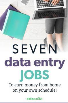 Looking for a new job but don't have extensive experience or a degree? A data entry job may be the perfect fit for you. If you've got an eye for detail, patience, and a willingness to work check out one of these 7 best data entry jobs you can land to make money from home!