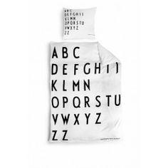 Bed linen Design Letters - einrichten-design.de