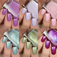 Zoya Spring 2017 Charming Collection Swatches And Review Nail PolishGel