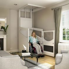 55 Best Through Floor Lifts And Wheelchair Lifts Images