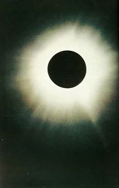 Solar eclipse, National Geographic, August 1970