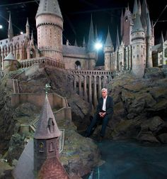 Model built for the exterior shots for all the films. Will be on display as part of The Making of Harry Potter studio tour in London