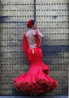 Flamenco Costume, Flamenco Dancers, Spanish Dress, Spanish Style, Couture Fashion, Runway Fashion, Dance Dresses, Flamenco Dresses, Mexican Dresses