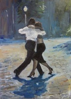 Original People Painting by Ellen Fasthuber-huemer Oil On Canvas, Saatchi Art, Original Paintings, Artist, Dance, Pictures, Artists