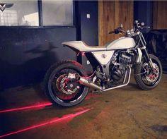 Ottonero Cafe Racer: x1st urban Tracker / Ninja 250