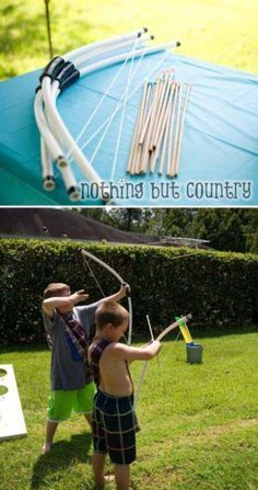 Easy PVC Pipe Projects For Kids Summer Fun Pvc Pipe Pipes - Best diy pipe project ideas for kids