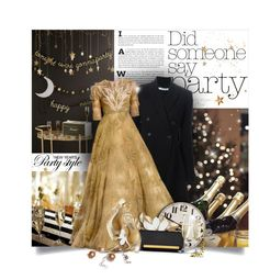 """""""Did Someone Say Party?"""" by moomoofan1972 ❤ liked on Polyvore featuring The Organic Pharmacy, Meri Meri, Givenchy, Yves Saint Laurent and Jimmy Choo"""
