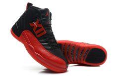 Air Jordan XII black red