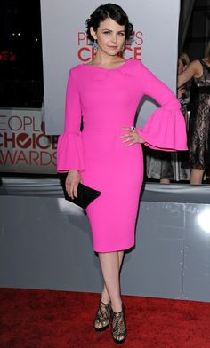 Ginnifer Goodwin hot pink