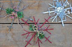 mirrors, diy snowflak, challenges, decorating ideas, snowflakes, christma idea, holidays, holiday decorating, ornaments