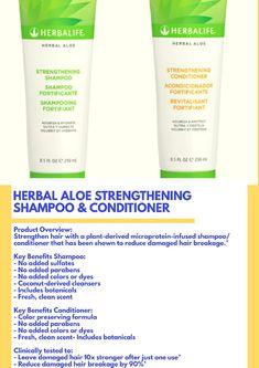 Herbalife Products, Herbalife Shake Recipes, Shampoo And Conditioner, Aloe, Herbalism, Hair Conditioner, Herbal Medicine, Aloe Vera